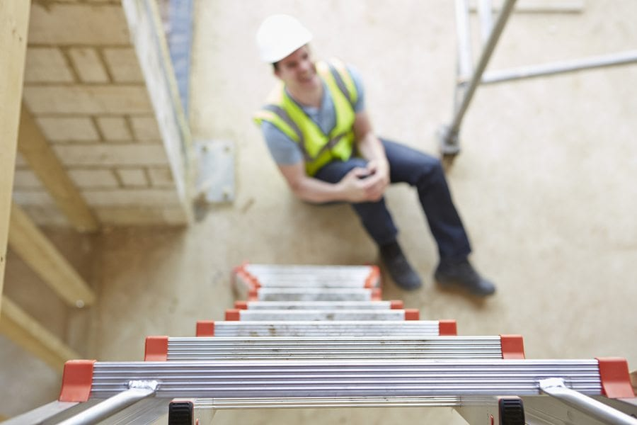 Reduce Workers Comp Claims! Insist on Safe Ladder Practices…